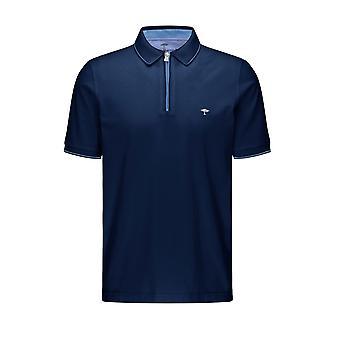 Fynch-Hatton Fynch-hatton Zip Polo Shirt Midnight