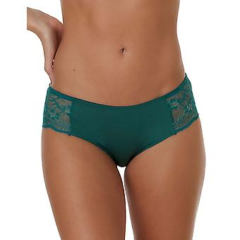 After Eden Moon 10.37.6117-172 Women's Dark Green Lace Hipster
