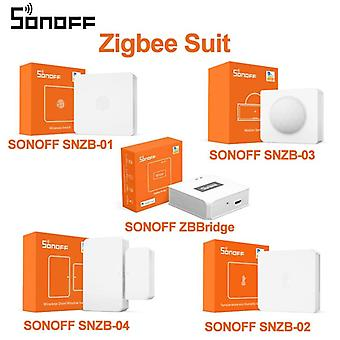 Snzb-02 Zigbee Temperature And Humidity Sensor Real Time