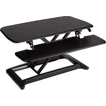 Wokex Basics - Verstellbarer Schreibtisch-Aufsatz, Schwarz