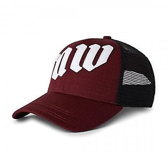 G-Star Raw Felt Baseball Trucker Cap Burgundy D19815
