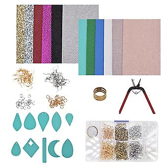 Leather Earring Making Materials Kit