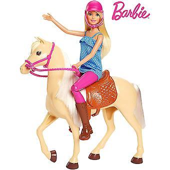 Blondi Barbie & Horse Playset