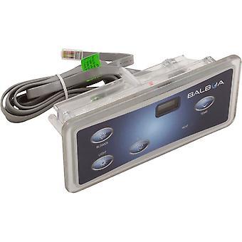 Balboa 51876 Topside 4 Button With Overlay for Balboa VL402