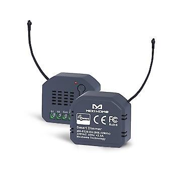 Z-wave Eu 868.42mhz interruptor de módulo de atenuación de luz para el control inteligente de la luz del hogar