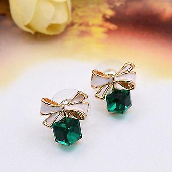Vintage Fashion Acrylic Tassel Crystal Water Drop Earrings