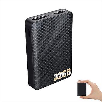 FengChun 32GB Aufnahmegerät mit Stimmenaktivierung Magnetischer Digital Diktiergerät Abhörgerät