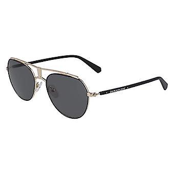 CALVIN KLEIN JEANS EYEWEAR Ckj19304s Sunglasses, Black, 5418 Woman
