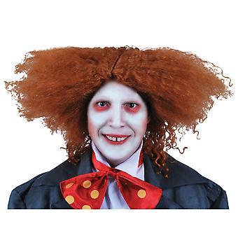 Mad Hatter Disney Alice In Wonderland Fairytale hommes luxe Costume Wig