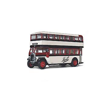 Leyland TD1 Closed Diecast Model Bus