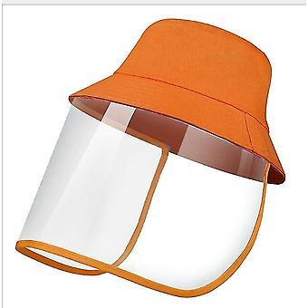 28Cm * 25 سم * 1 سم البرتقال قبعة الشمس في الهواء الطلق للرجال والنساء x5095