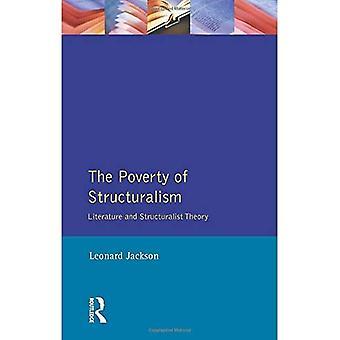 La pauvreté du structuralisme : littérature et théorie structuraliste