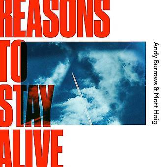 Andy Burrows & Matt Haig - Reasons To Stay Alive Vinyl