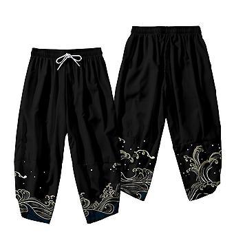 Kimono Haori Pantaloni Set