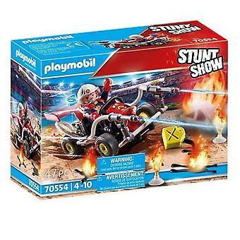 Speelset Playmobil Stunt Show Fireman (47 stuks)