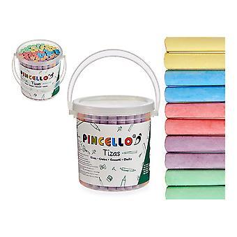 Secchio multicolore gessetti (60 uds)