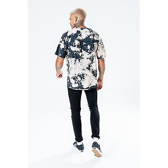 Hype Herre Blegemiddel Overdimensioneret T-shirt
