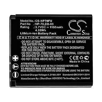 Cameron Sino Np70Fu Battery Replacement For Fujifilm Camera