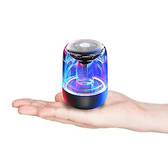 6d Mini Colorful Lights Bluetooth 5.0 Wireless Speaker For Iphone Sumsung 11 S9 Huawei Mate30