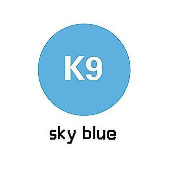 1m lengte reclame afdrukken warmteoverdracht belettering film kledingstuk afdrukken (blauw)