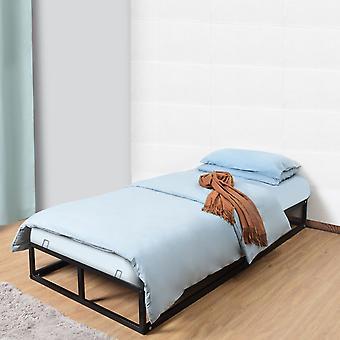 Single Metal Bed Frame Square Tube