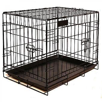 Riga Dog Cage Black - 79 Cm