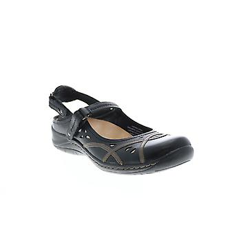 Terre Adulte Femmes Pagode Cuir Mary Jane Appartements