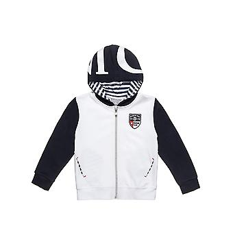 Alouette Boys' Jacket With Hood And Embroidery