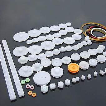 Plastic Gear Rack Pulley And Belt Drive (8-56 Teeth)