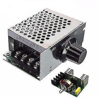 AC電圧レギュレータ - 220vモータスピードコントローラPwmコントロールScr 4000w