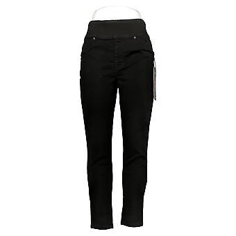 DG2 by Diane Gilman Leggings Stretch Comfort Waist Skinny Jegging Black 733923