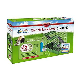 Kaytee My First Home Chinchilla or Ferret Starter Kit - 1 count