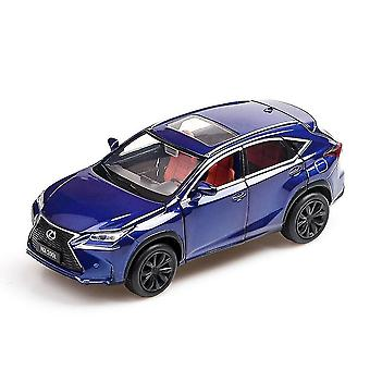 Toy cars 1:32 lexus nx200t alloy pull back model metal toy