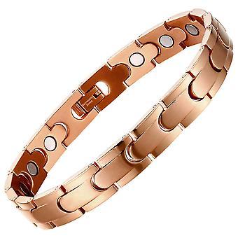 Energie armbanden magnetische titanium stalen armband mannen armbanden met gratis link verwijderen tool