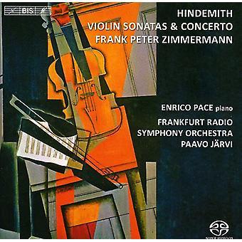 P. Hindemith - Hindemith: Importation sonates de violon Concerto & [SACD] é.-u.