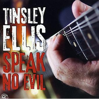 Tinsley Ellis - puhua No Evil [CD] USA tuonti