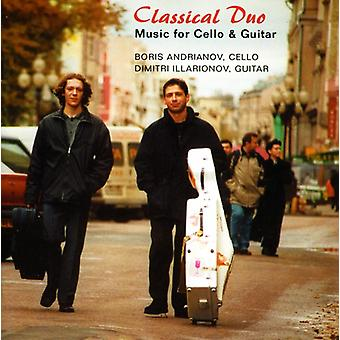 Andrianov/Illarionov - Classical Duo: Music for Cello and Guitar [CD] USA import