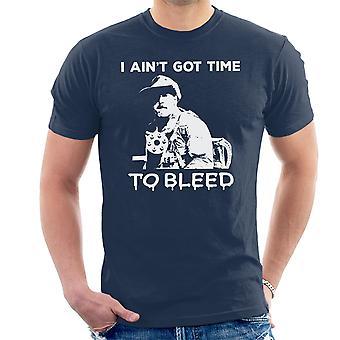 Predator Aint Got Zeit Herren T-Shirt bluten