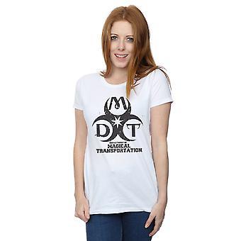 Harry Departamento Potter mujeres de transporte mágico Logo t-shirt