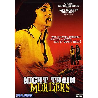 Night Train Murders [DVD] USA import