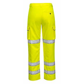 Portwest - Damen Hi-Vis Sicherheit Workwear Polycotton Hosen