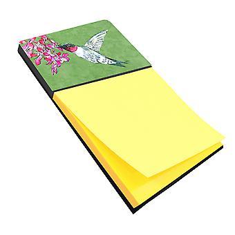 Hummingbird Refiillable Sticky Note Holder or Postit Note Dispenser