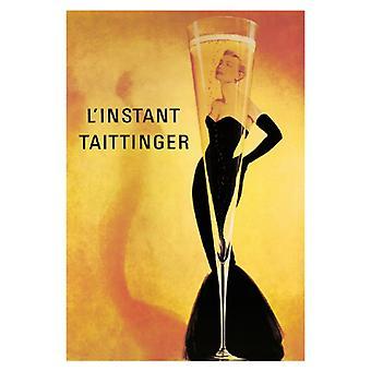 LInstant Taittinger affisch Skriv (24 x 36)
