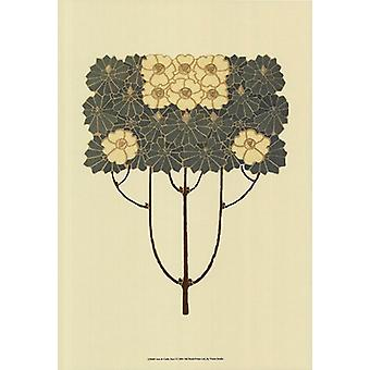 Arts and Crafts Tree I Poster Print by Vision studio (13 x 19)