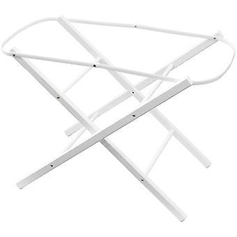 Shnuggle Moses Basket Folding Stand White