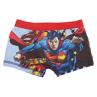 スーパーマンの子供/男の子綿リッチ ボクサー パンツ