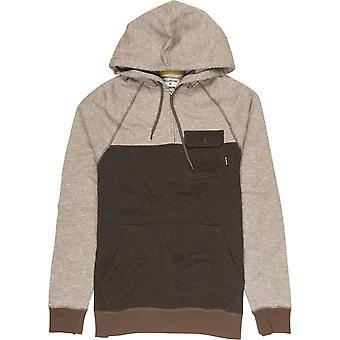 Billabong balans halve zip Pullover Hoody in Earth