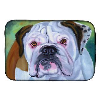 Carolines Treasures  7350DDM Miss English Bulldog Dish Drying Mat
