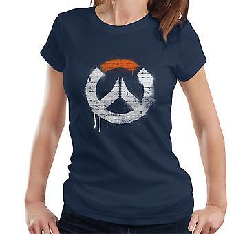 Overwatch Graffiti Logo Damen T-Shirt