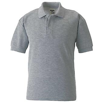 Russell Schoolgear Boys and Girls classic polycotton Short Sleeve Polo Shirt